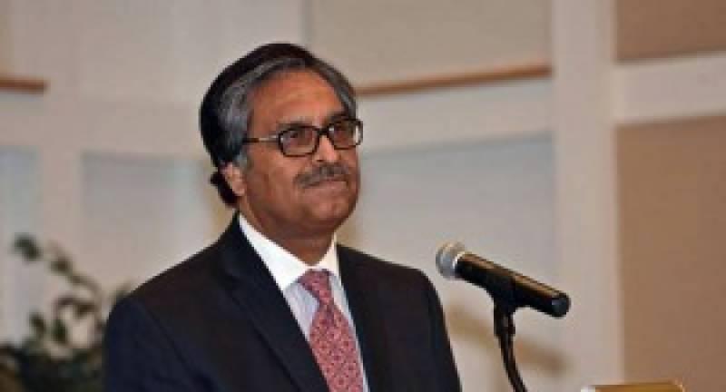 پاک امریکا تعلقات امن کی بیناد پر قائم ہیں:پاکستانی سفیر