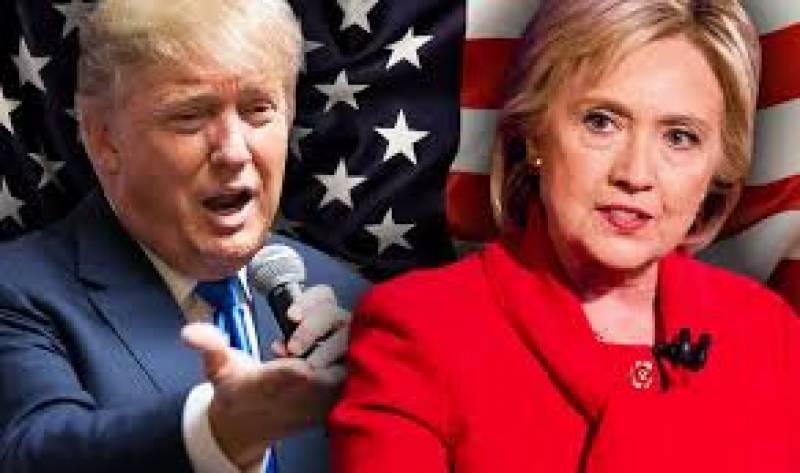 ووٹنگ مشینیں خراب،ٹرمپ کا بٹن دبانے پر ہلیری کا نام