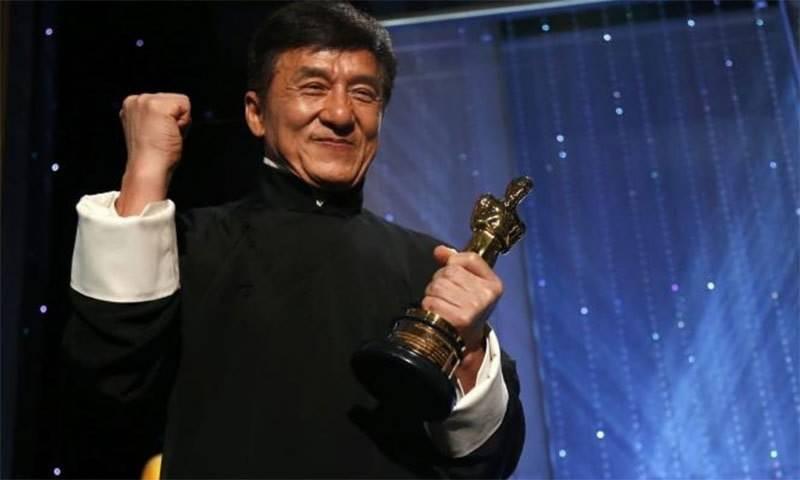 جیکی چن نے بھی 'آسکر ایوارڈ' جیت لیا