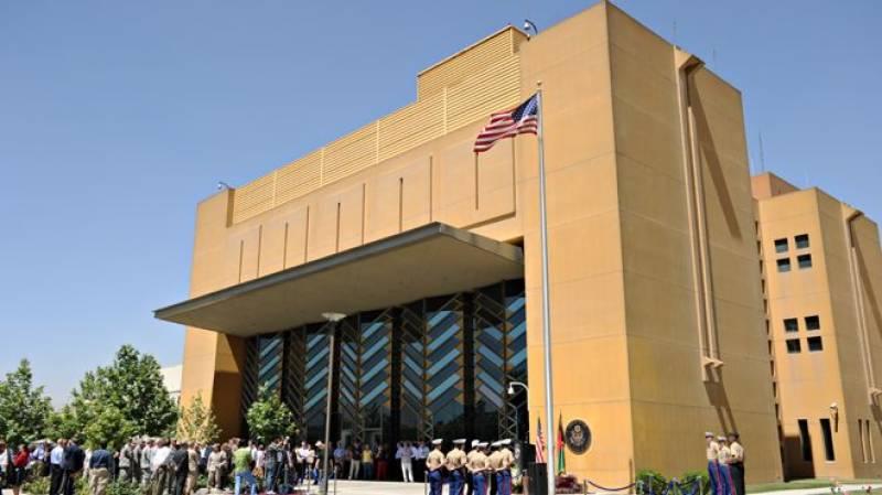 کابل میں امریکی سفارت خانہ عارضی طور پر بند