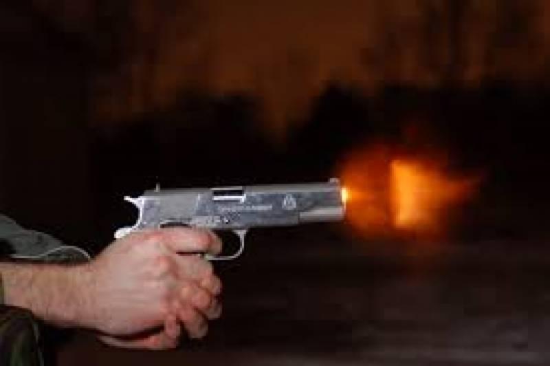 غوثیہ کالونی داماد نے سسر کو گولی مار دی