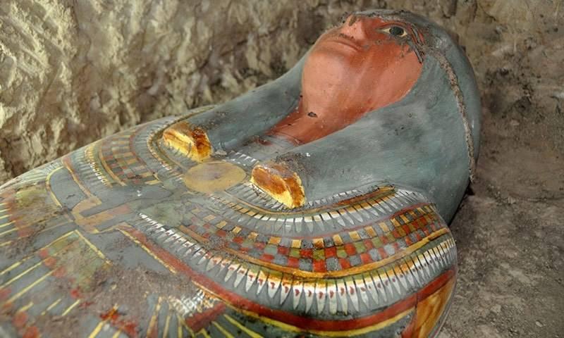 مصر سے ڈھائی ہزار سال پرانی ممی دریافت