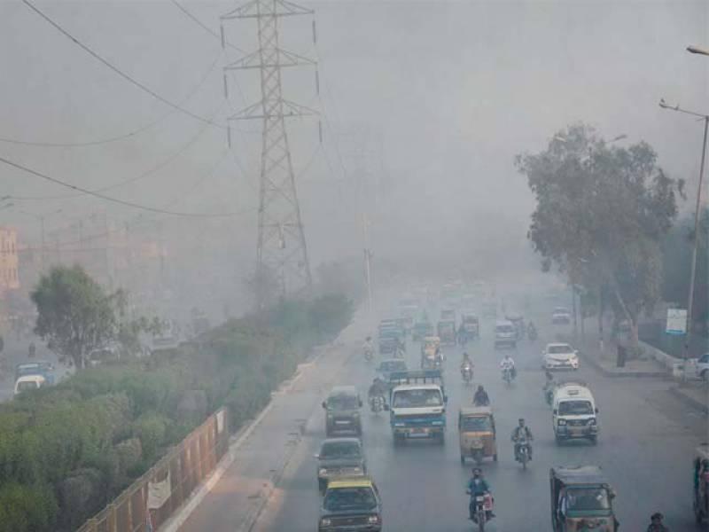 سمندری ہوائیں رکنے سے کراچی میں اسموگ کا خدشہ بڑھ گیا: محکمہ موسمیات