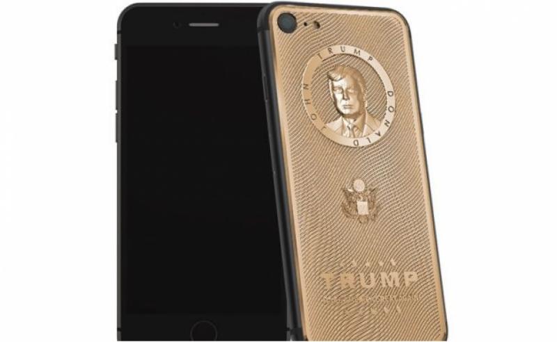 سونے سے بنا ڈونلڈ ٹرمپ آئی فون، قیمت3لاکھ روپے