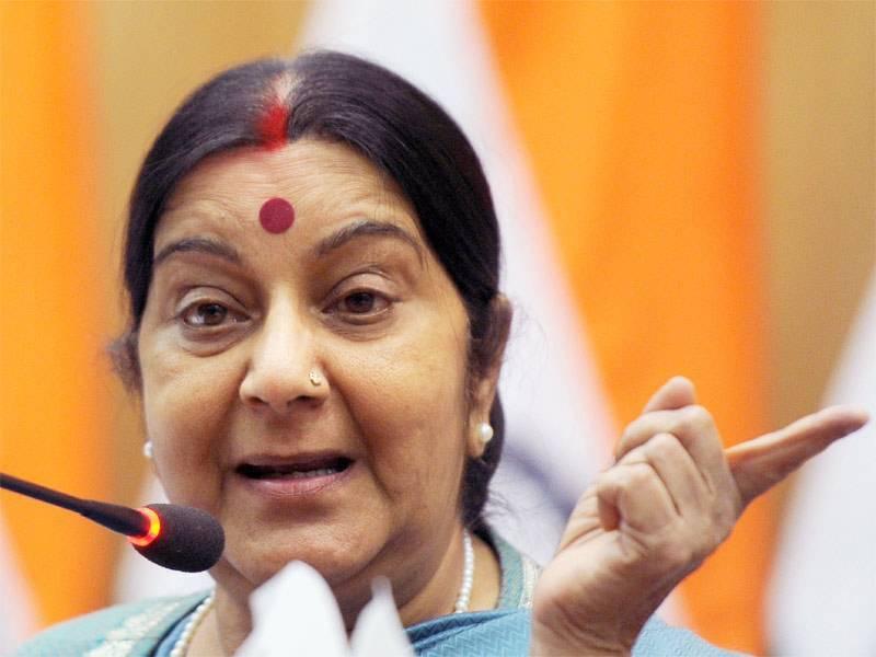 بھارتی وزیرخارجہ سشما سوراج کے گردے خراب، ہسپتال داخل