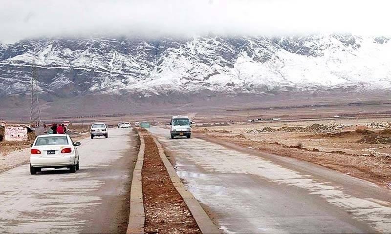 کو ئٹہ سمیت بلو چستان کے مختلف علا قوں میں سردی کی شدت برقرار