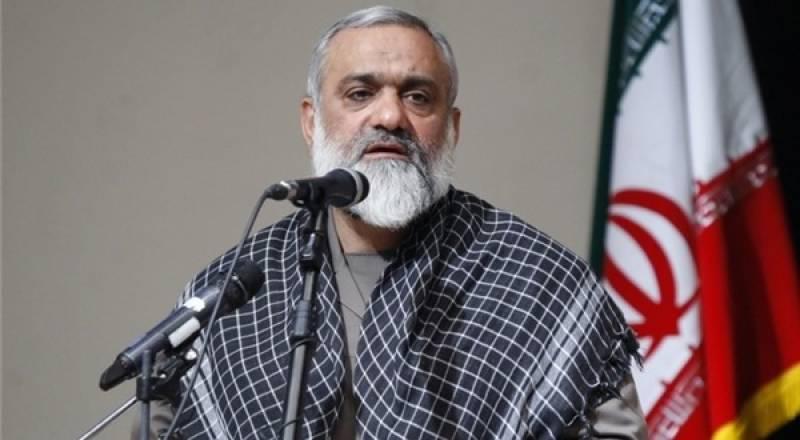 امریکہ کے 2035میں ٹکڑے ہوجائیں گے: ایرانی باسیج کمانڈر