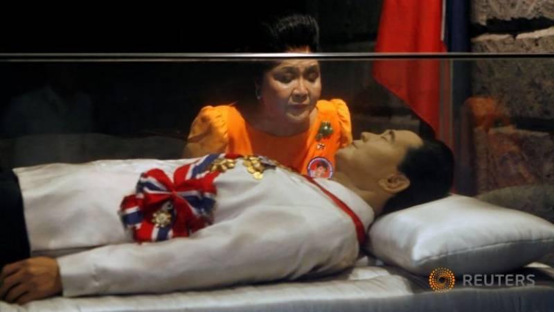 فلپائن کے سابق آمر کی قومی ہیروز کے قبرستان میں دوبارہ تدفین