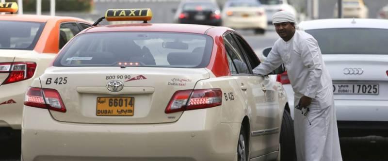 دبئی کی ٹیکسیوں میں مفت وائی فائی
