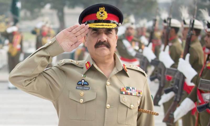 آرمی چیف کا کراچی کور ہیڈکواٹر زکا الوداعی دورہ