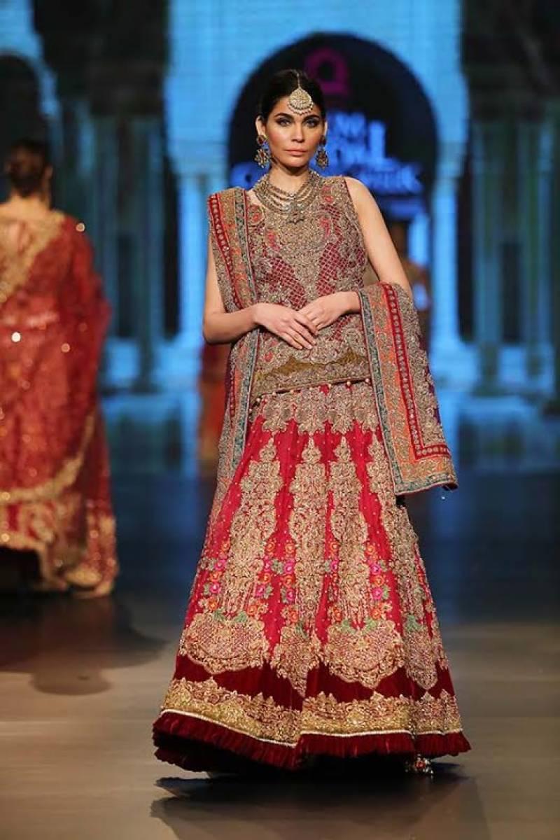 لاہور میں رنگا رنگ برائیڈل کیٹیور ویک 2016ءکا آغاز