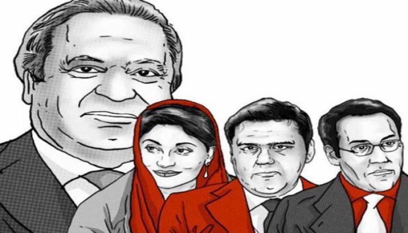 پی ٹی آئی نے شریف خاندان کی مبینہ کرپشن، متضاد بیانات پر مبنی دستاویزی فلم بنالی