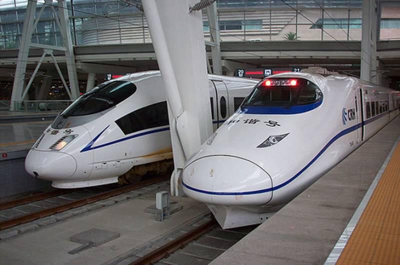 چین میں ہائی سپیڈ ریل وے سروس کا افتتاح