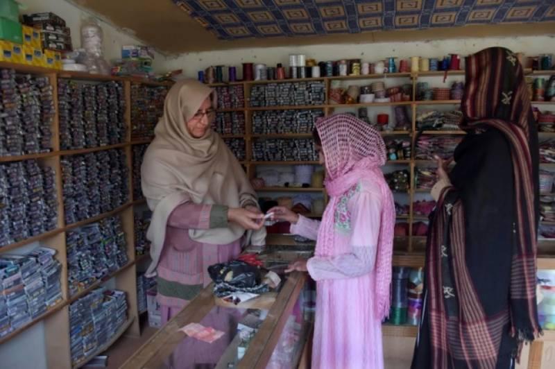 آزاد کشمیر کے علاقے راولا کوٹ کے قریب13دکانوں پر مشتمل ایک ایسی مارکیٹ قائم ہے جہاں دکاندار اور خریدار دونوں ہی خواتین ہیں۔