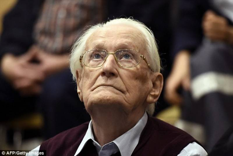 تین لاکھ یہودیوں کے قتل میں معاونت،نازی مجرم کی سزا برقرار