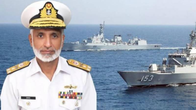 سی پیک کا تحفظ اولین ترجیح،جان دیدیں لیکن ملک کی حفاظت کرینگے: سربراہ پاک بحریہ