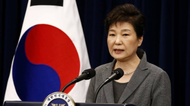 جنوبی کوریا کی خاتون صدر اپنا عہدہ چھوڑنے کے لیے تیار
