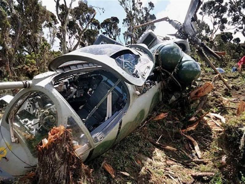 بھارتی آرمی کا طیارہ گر کر تباہ، 3 فوجی افسران ہلاک