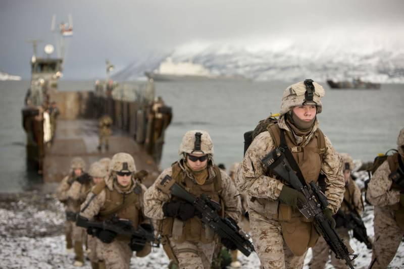 امریکا کے 300 کے قریب فوجی ناروے اور روس کی سرحدوں پر تعینات