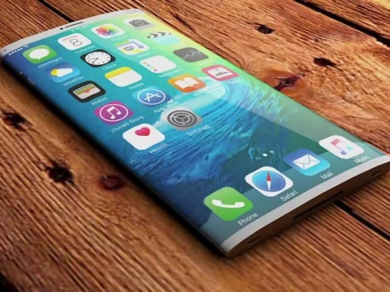 آئی فون ''8'' میں مُڑی ہوئی اسکرین اور تھری ڈی کیمرے کا امکان