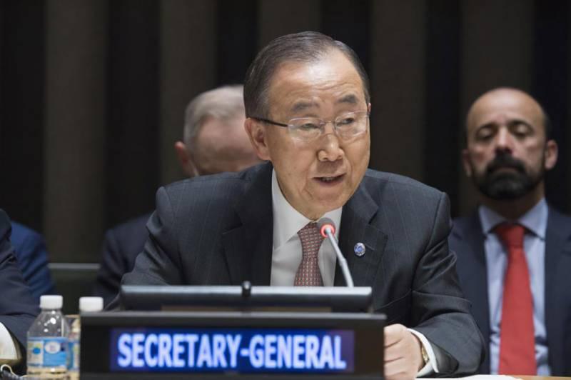ہیٹی میں ہیضے کی وباءپھیلنے میں اقوام متحدہ کے کردار پر شرمندہ ہیں، بان کی مون