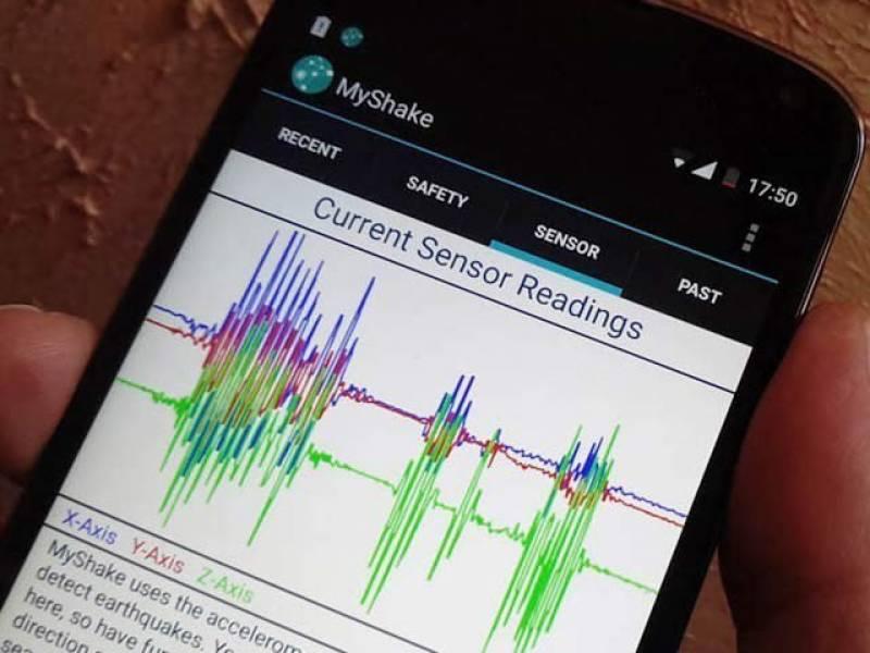 زلزلے کی کامیاب شناخت کرنے والی ایپ