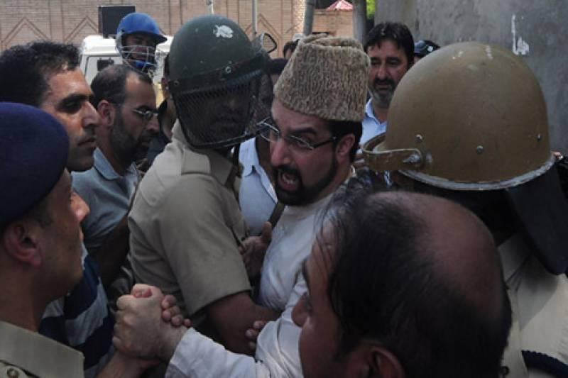 میر واعظ دوبارہ نظربند، خواجہ بہاؤالدین کی عرس کی تقریبات میں شرکت سے روک دیا گیا