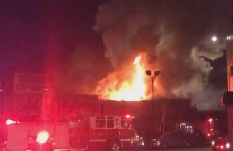کیلیفورنیا: لیٹ نائٹ پارٹی کے دوران آتشزدگی، 9 افراد ہلاک