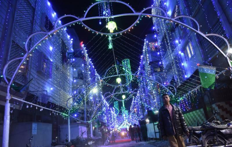 کوٹلی میں جشن عیدمیلادالنبی ﷺ کی تیاریاں عروج پر