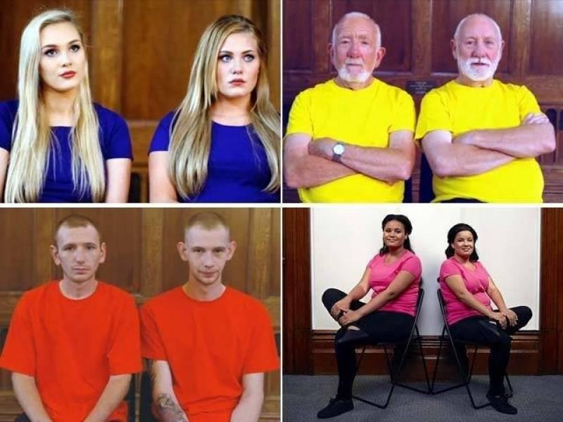 برطانوی چینل پر ''اجنبی جڑواں افراد'' نے سب کو حیران کردیا