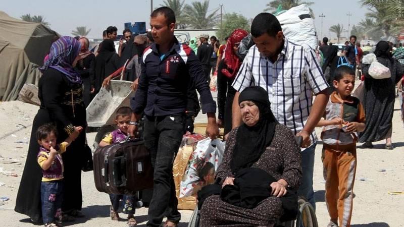 حلب کے آزاد شدہ علاقوں میں شامی شہریوں کی واپسی