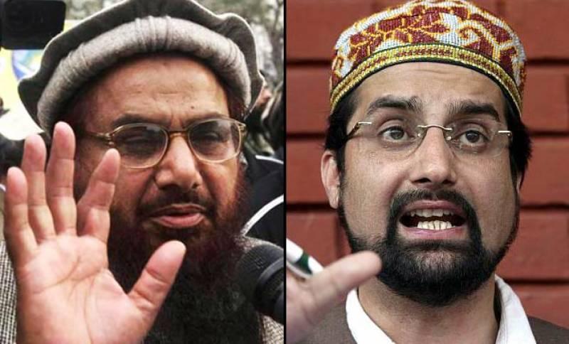 حافظ سعید اور میر واعظ عمر فاروق کی نیو نیوز کی نشریات بحال ہونے پر مبارکباد