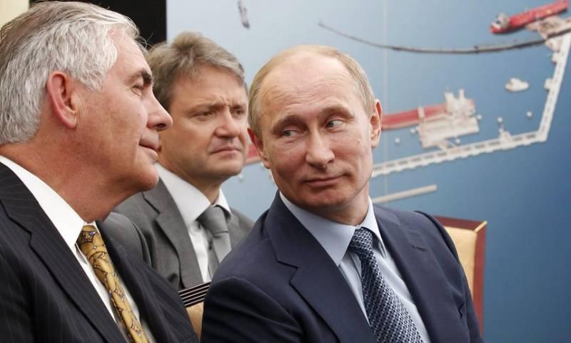 روسی صدر کے دوست کا امریکی وزیر خارجہ بننے کا امکان