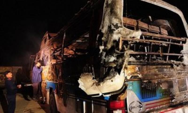 کوئٹہ میں ٹرک اور مسافر کوچ میں تصادم، 8 افراد ہلاک
