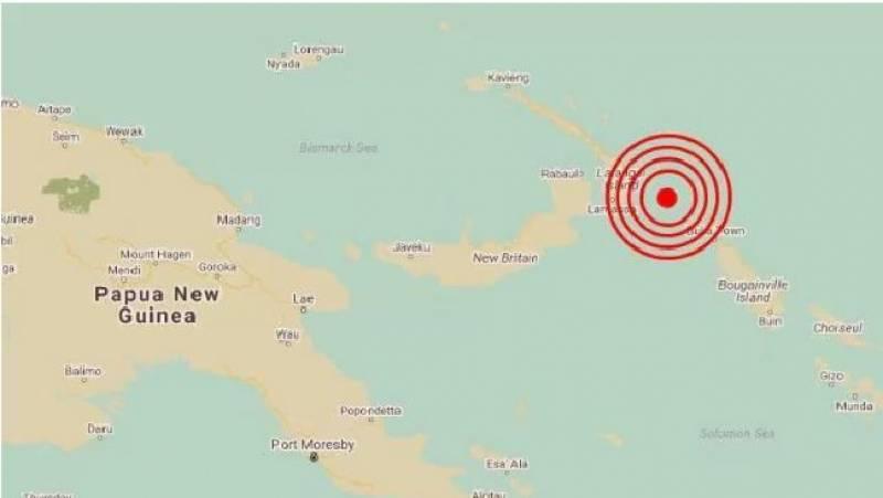 آسڑیلیا کے مشرقی علاقے پاپو نیو گینیا 7.9شدت کا زلزلہ،سونامی الرٹ جاری