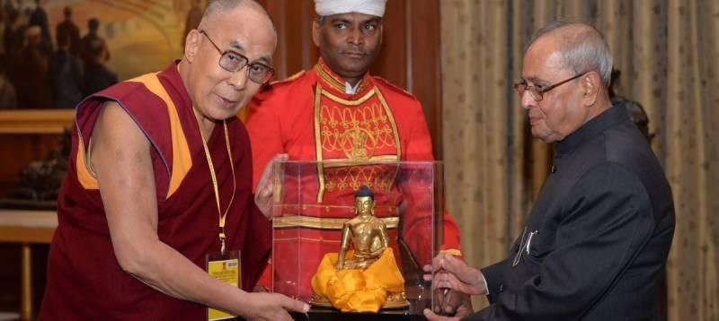 بھارتی صدر کی دلائی لامہ سے ملاقات پر چین کا احتجاج