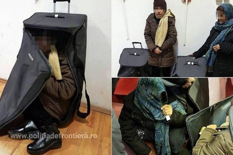 رومانیہ میں سامان کے بیگوں سے دو افغان خواتین برآمد