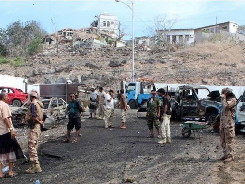 یمن میں فوجی اڈے پر خود کش حملہ، 40 فوجی ہلاک