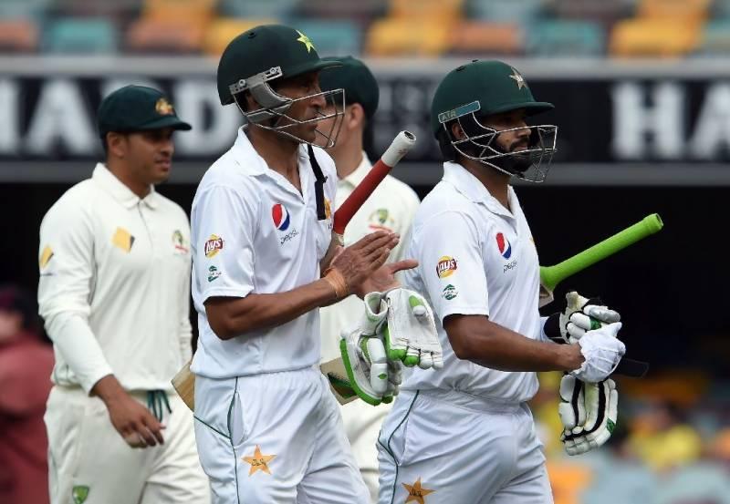 سنسنی خیز مقابلے کے بعدآسٹریلیا نے پاکستان کو 39رنز سے شکست دے دی