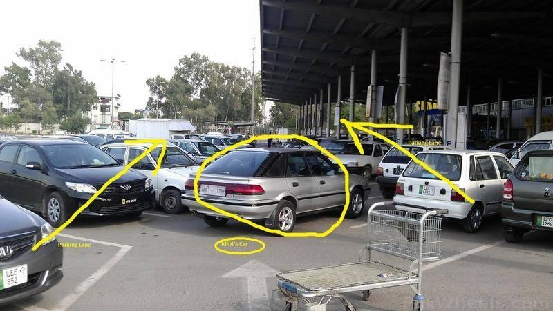 عوام کی غلط پارکنگ بھی ٹریفک مسائل کی بڑی وجہ ،حکام نے سرپکڑلئے