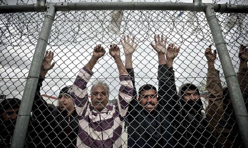 کروشیا میں 62پاکستانی وافغانی غیرقانونی تارکین وطن گرفتار