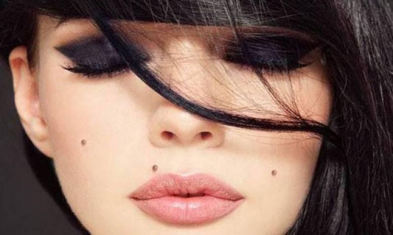 چہرے کے تلوں کے بارے میں حیران کن باتیں