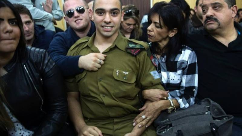 فلسطینی کا قتل، نیتن یاہو نے ملزم فوجی کو معاف کرنے کا مطالبہ کر دیا