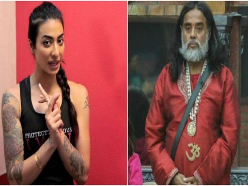 بھارتی شو بگ باس میں اوم سوامی کی خاتون سے نا مناسب حر کت