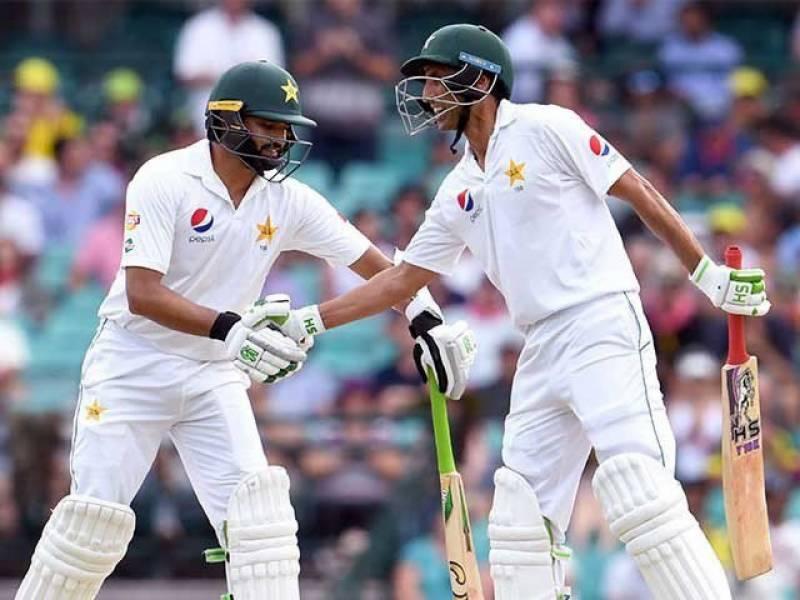 یونس خان اور اظہر علی ٹاپ ٹین بلے بازوں میں شامل