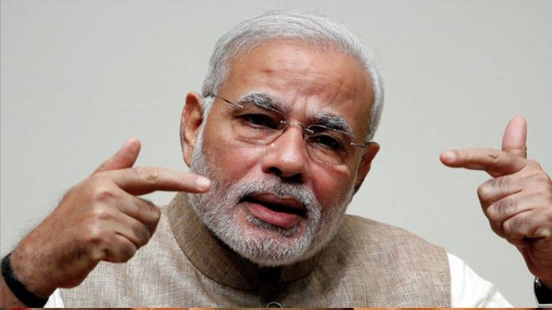 بھارتی وزیراعظم نریندر مودی کا منہ کالا کرنے پر 25 لاکھ روپے کا اعلان