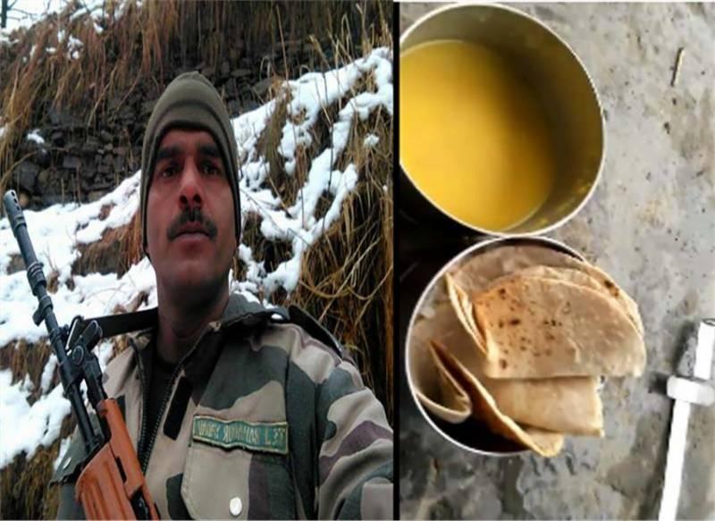 سرحد پر بھارتی فوجیوں کو کھانے کے لالے، ویڈیو نے تہلکہ مچا دیا