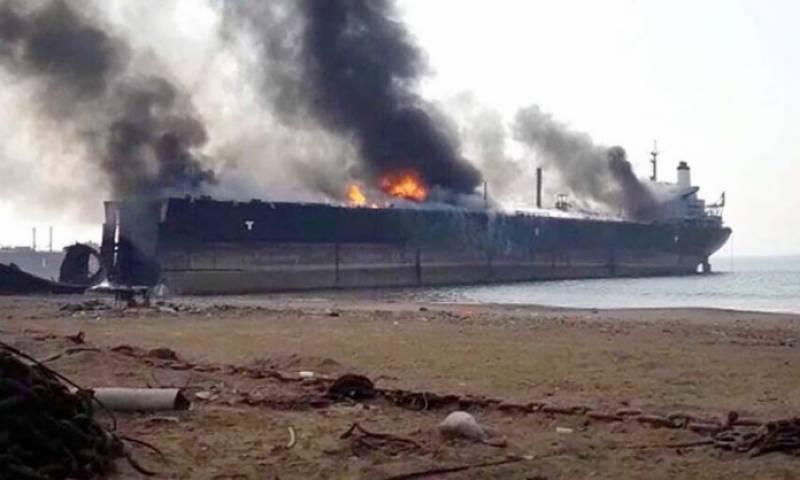 گڈانی شپ یارڈپرناکارہ بحری جہازمیں آگ کیسے لگی، تحقیقات شروع
