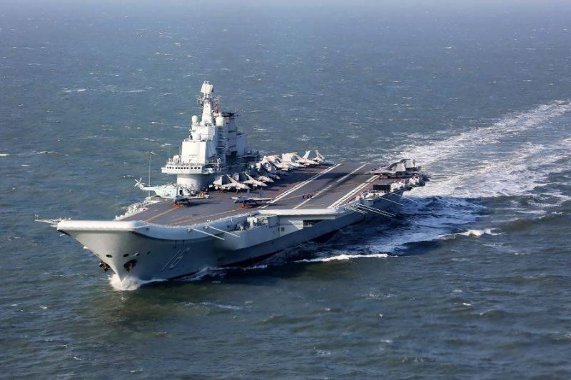چین کا طیارہ بردار بحری جہاز تائیوان کے سمندروں میں داخل
