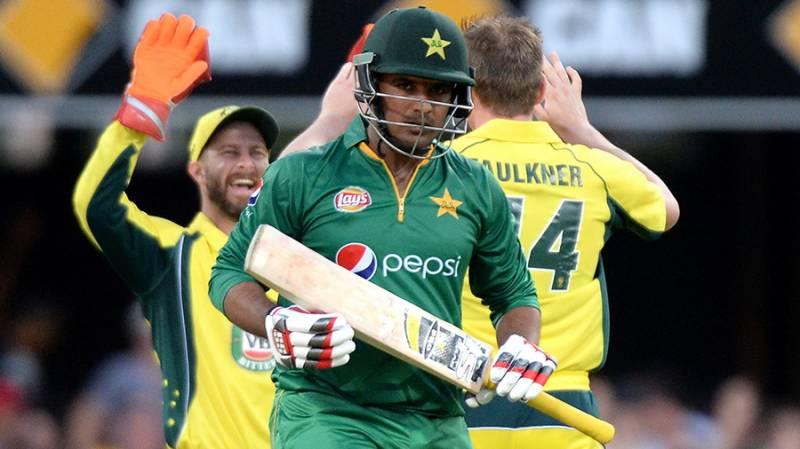 برسبین: آسٹریلیا کے ہاتھوں پاکستان کو پہلے ون ڈے میں بھی شکست